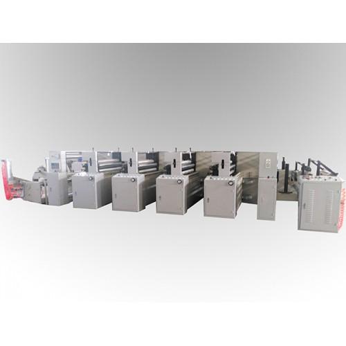 LGA-1000型4色2机组式柔印机