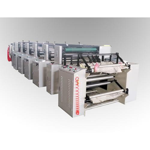 LGA-1000型4色4机组式柔印机