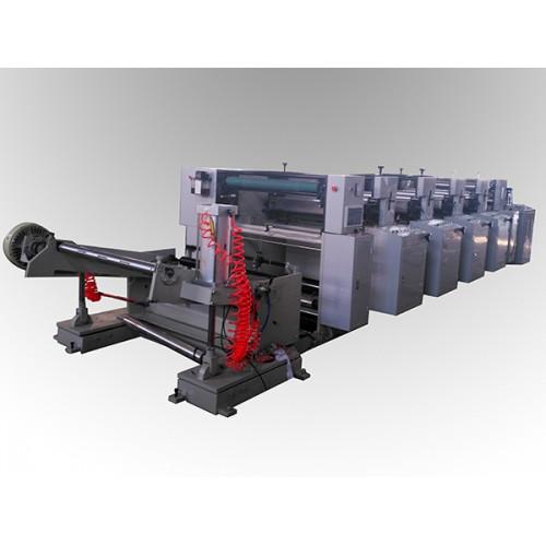 LGA-1000型4色5机组式柔印机