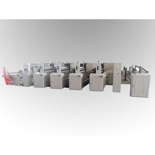 LGA-1000型4色1机组式柔印机