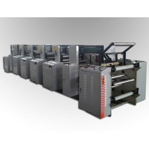 LGA-600型4色机组式柔印机
