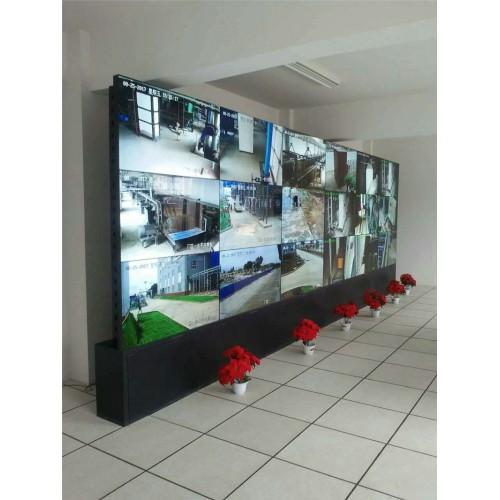 甘肃武威热力厂3X5机柜式液晶拼接屏