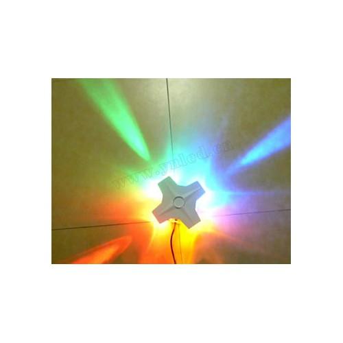 15W七彩多变LED十字星光灯