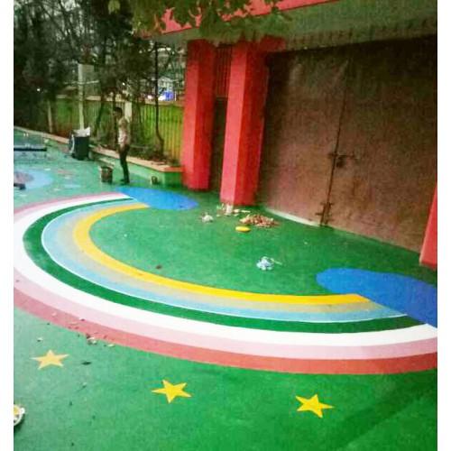 丙烯酸童趣地板