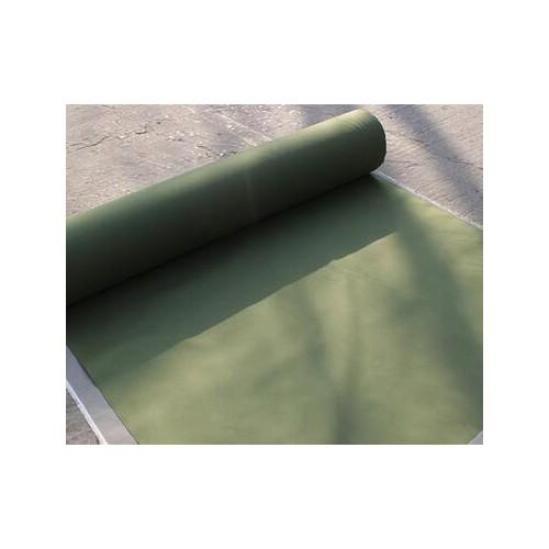 供应优质有机硅帆布 防尘军绿色帆布