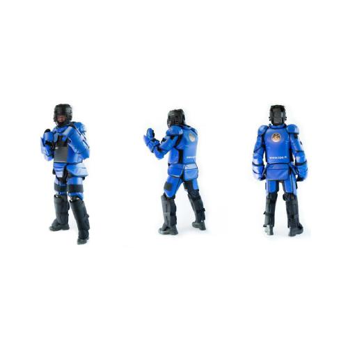 美国紫人训练防护教官服 芬兰进口蓝人训练服