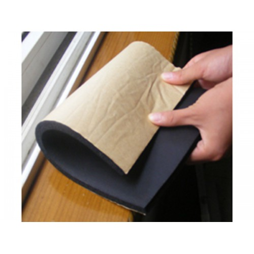 橡塑保温板 不干胶橡塑板