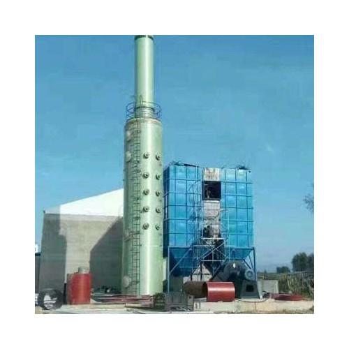玻璃钢脱硫塔 废气净化塔砖厂脱硝除尘设备 烟气喷淋脱硫塔