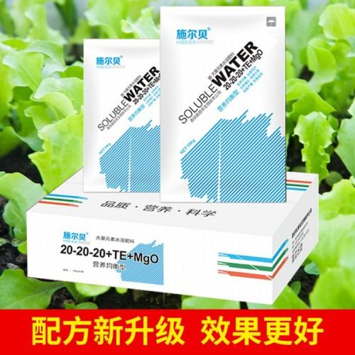 大量元素水溶肥 氮磷钾配比20-20-20+TE+MgO
