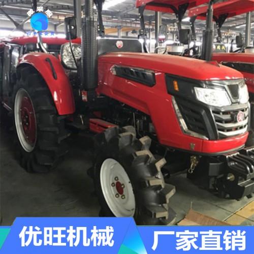 水旱两用型四驱四轮拖拉机 高效多功能高花轮打田机