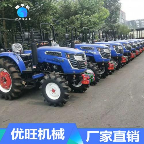 水旱两用型四驱四轮拖拉机 高效多功能大马力拖拉机