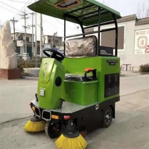 驾驶电动扫地车 电动三轮扫地车 物业电动扫地车
