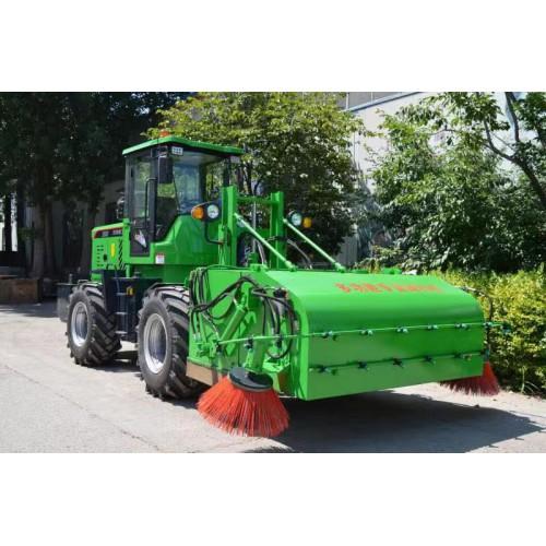工地装载机清扫机 装载机水稳清扫车 煤厂装载机扫路车