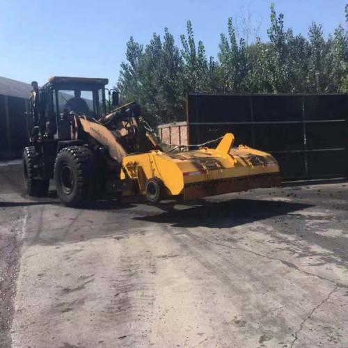 装载机扫地 50装载机扫地 煤场钢铁厂装载机改扫地