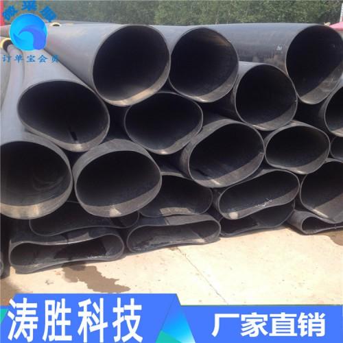 各种型号黑黄夹克管 聚氨酯夹克管 预制直埋保温管