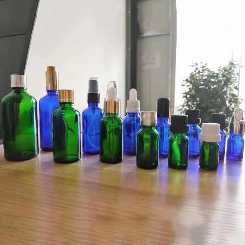 精油瓶 30ml 茶色精油瓶 方形精油瓶 高档精油瓶