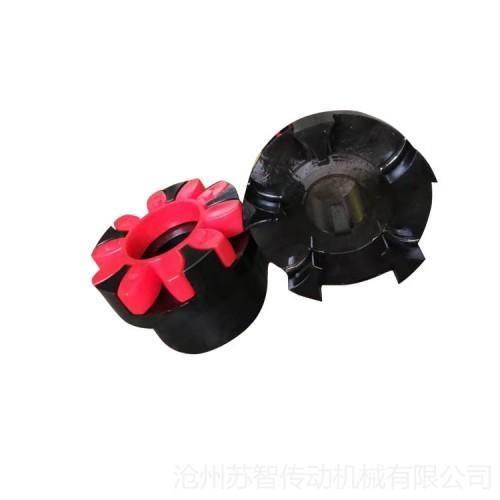 LM型梅花弹性联轴器 三爪式联轴器 沧州传动机械配件