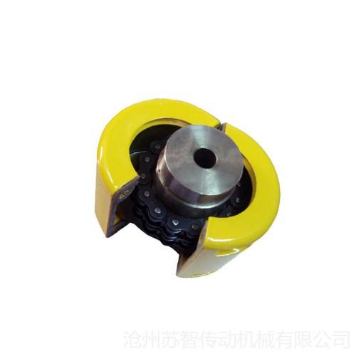 GL滚子链联轴器 带罩壳双排滚子链联轴器 其他链条联轴器