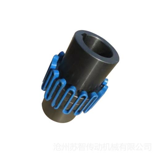 JS型蛇形弹簧联轴器 带罩壳蛇簧联轴器