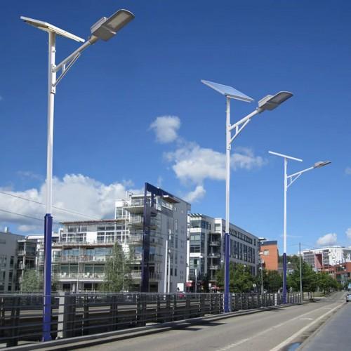河北太阳能路灯 景区路灯双头路灯