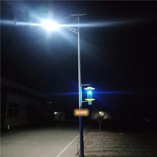 太阳能路灯加杀虫灯频振式户外照明工程农用