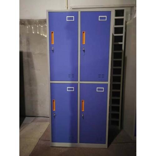 厂家直销 4门更衣柜 铁皮柜 兴大供应 铁皮更衣柜 厂家批发