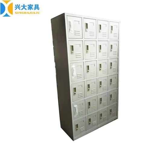 厂家直销 24门鞋柜 铁皮储物柜 文件柜 兴大批发 量大价低