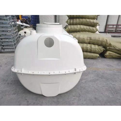 寒冷地区专用加厚型玻璃钢模压化粪池