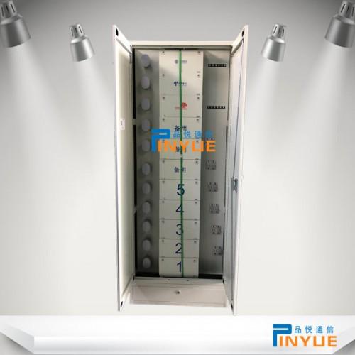 机架式576芯ODF光纤配线柜19英寸安装