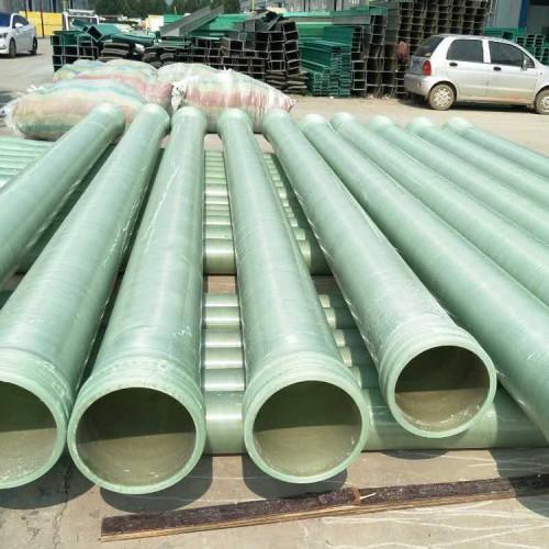 厂家销售玻璃钢夹砂管道玻璃钢压力管道污水排水管