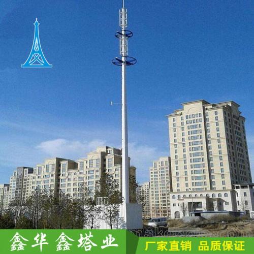 供应5G通信塔杆 5G单管通信塔 5G独管通信塔