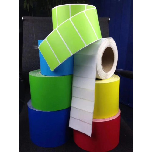 彩色不干胶贴纸多少钱   条码打印纸价格厂家直销