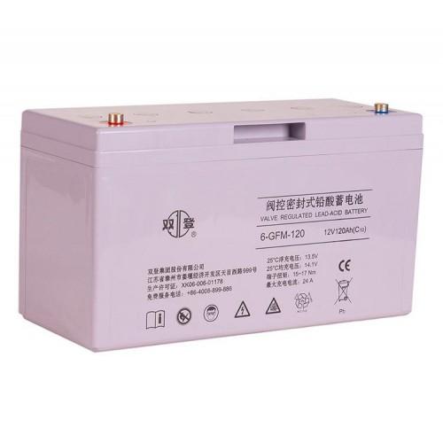 双登蓄电池12V120AH原厂正品免维护铅酸蓄电池UPS电池