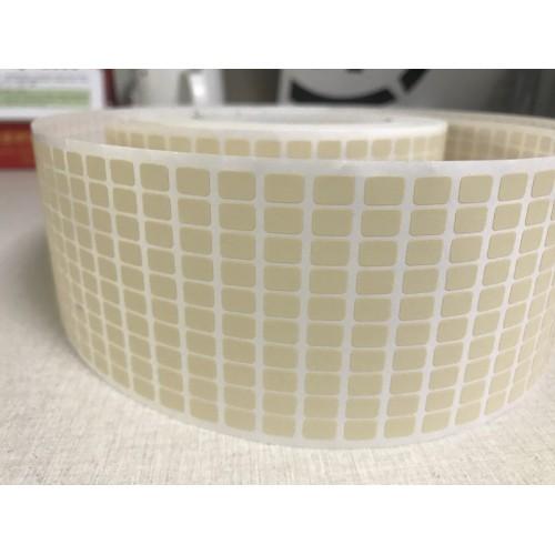 耐高温300度标签纸 SMT高温标签 PCB二维码高温贴纸