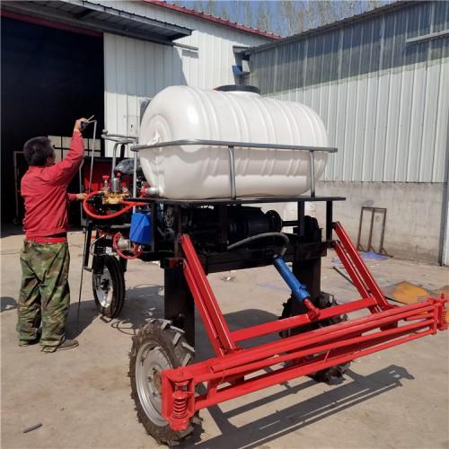 自走式打药机 乘坐式三轮打药机 小麦玉米打药机