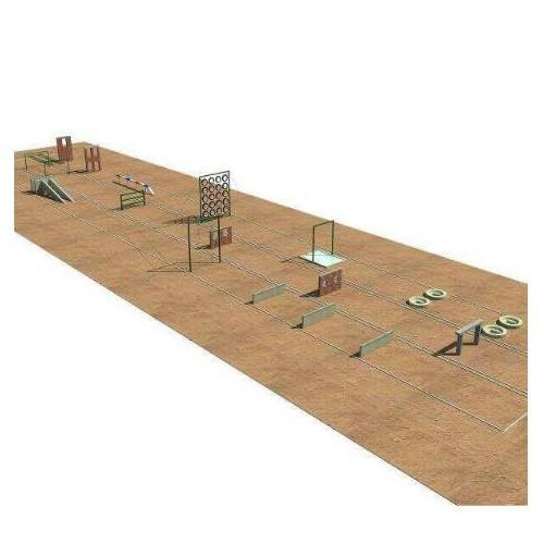 部队300米障碍器材训练场