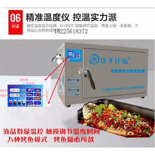 张家港电烤鱼箱 智能无烟烤鱼箱 商用烤鱼炉哪里有销售