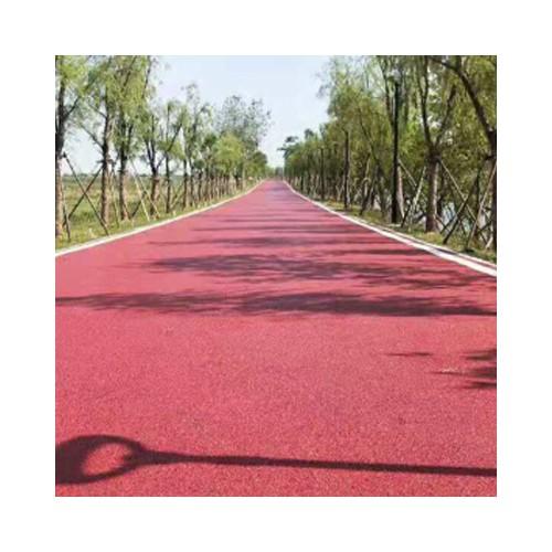 桂林彩色透水地坪材料价格