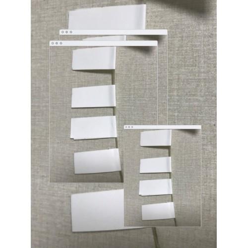 阻燃不干胶标签纸 VO阻燃不干胶材料 高温阻燃不干胶贴纸