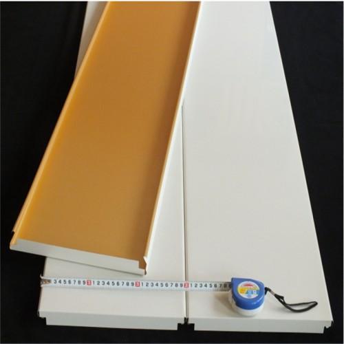 加油站罩棚铝扣板高边防风铝条板吊顶