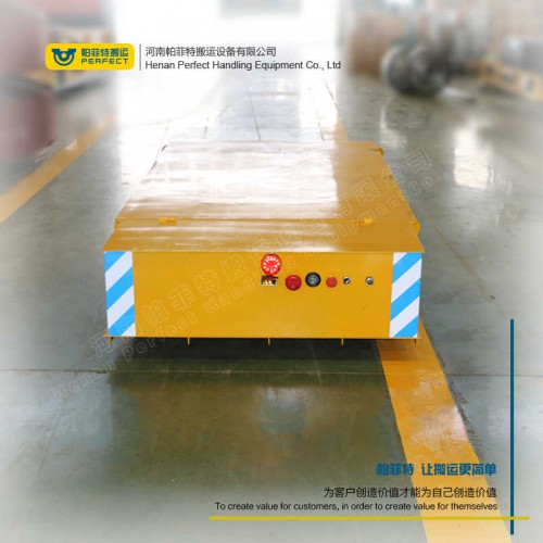货物运输 轨道搬运车 50吨电动轨道转盘 车间转运设备
