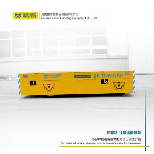 货物运输 轨道电动平车 70吨承重新能源电动平车 车间转运设备