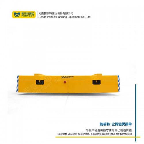 拉运平把车 轨道电动平车 250吨承重手动平板车 行车过跨运输