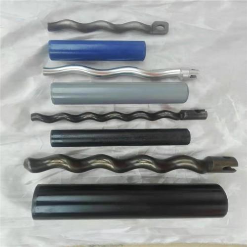 辽宁鞍山供应腻子喷涂机配件小螺旋定子转子螺杆胶套水泥砂浆