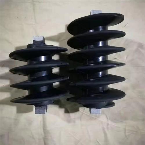砂浆喷涂机转子定子配件转子定子小螺旋胶套螺杆河北旭晓耐