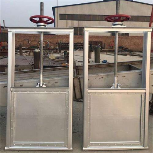 海鹰 不锈钢机闸一体闸门 定制 反向止水闸门 启闭灵活可靠