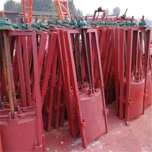 海鹰 渠道机闸一体闸门 定制 平面镶铜铸铁闸门 严密止水