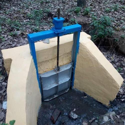 海鹰 横梁机闸一体闸门 定制 楔压式钢闸门 高密封 低摩擦