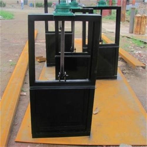 海鹰 纵梁机闸一体闸门 定制 平面钢闸门 严密止水 启闭灵活