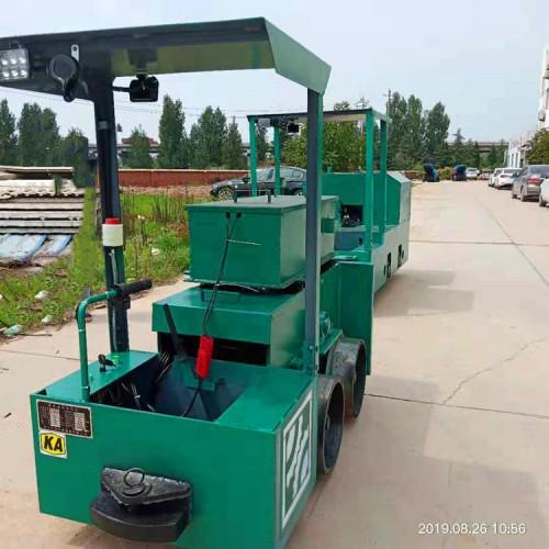 小型井下电机车 矿用2吨电动牵引机车